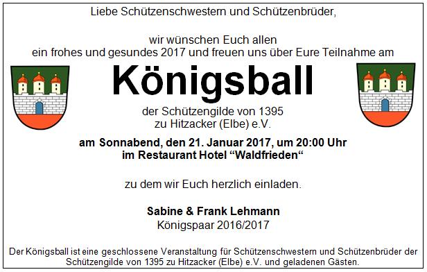 2017-01-21 Koenigsball