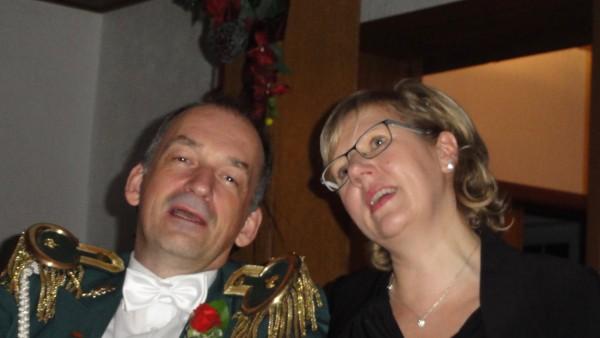 Ball Metzingen Lagerfeuer Königspaar