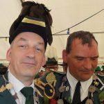Schützenfest Metzingen 2016 - König Michael mit König Heiner