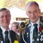 Schützenfest Metzingen 2016 - König Michael und Vize Eckhardt