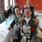 Schützenfest Lüchow 2016 - König Michael mit König Maik
