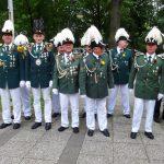 Schützenfest Lüchow 2016 - Antreten