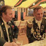 Schützenfest Lüchow 2016 - Auf dem Zelt