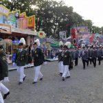Schützenfest Dannenberg 2016 - Marsch über den Platz