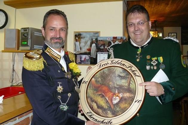 Drei-Gilden-Pokal Ehrenscheibe 2010