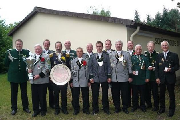 Drei-Gilden-Pokal Sieger und Platzierte