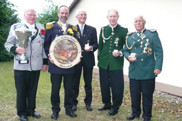 Drei-Gilden-Pokal Sieger Gruppenbild