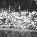 Großes Gruppenbild - Kinderschützenfest 1931