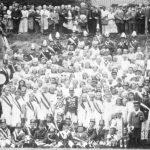 Gruppenbild 1924 - Hedwig Griebel und Friedrich Rabe