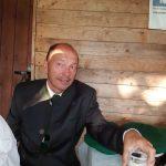 Scheibeannageln - NahruScheibeannageln - Vize bei der Brotzeit