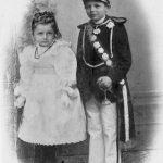 Johann Heinrich Wilhelm Bruns mit Schwester - 1898