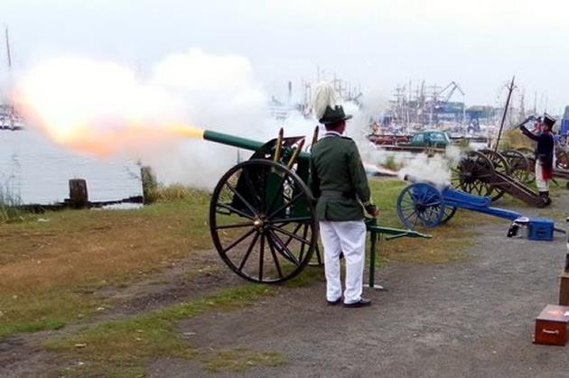 Kanonenfeuer mit Addo Grabow
