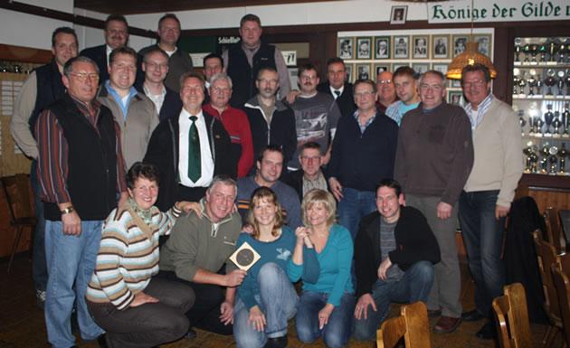Karl Guhl Pokal Schießen 2009 - Alle Teilnehmer