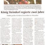 Kiebitz 2014-07-09 Koenig Harald 2 JahreSchützenkönig in Hitzacker