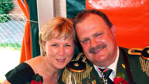 Königspaar 2010 Conny und Thomas_Schenck