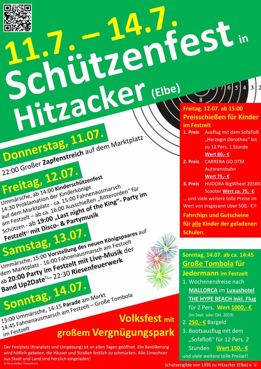 Schützenfest Hitzacker 2019