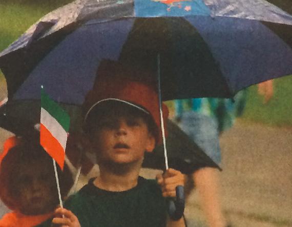 Schützenfest 2014 Kinderschützenfest Regenschirm