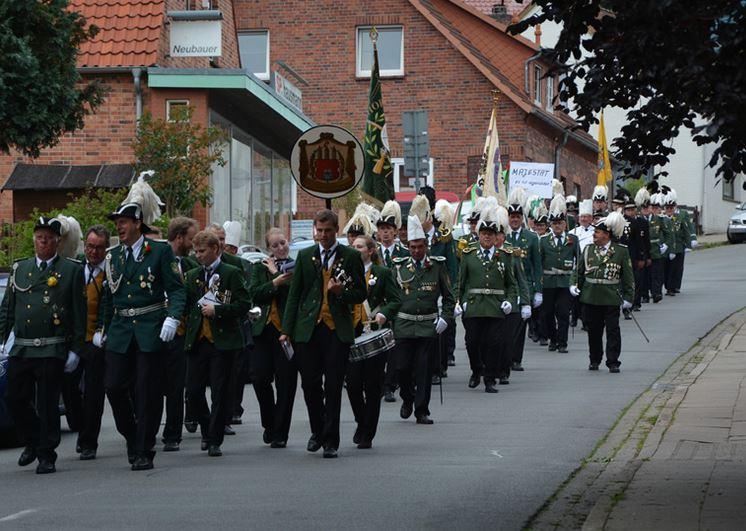 Schützenfest 2015 Marsch