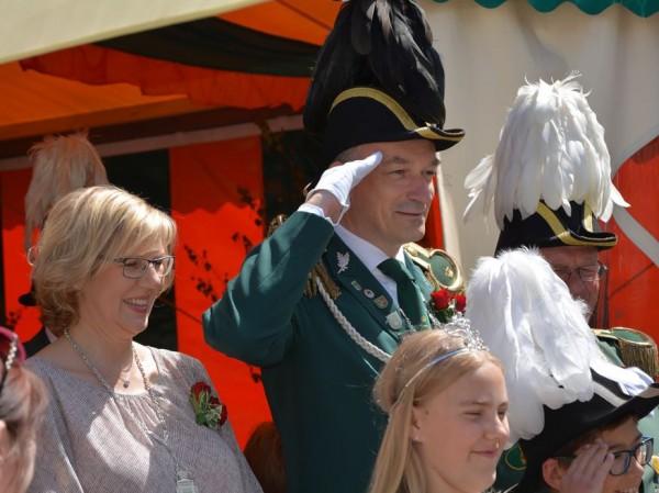Schützenfest 2015 Petra und Michael Hewekerl Gruß