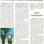 Schützenfest Hitzacker 2014 - Neue rekruten