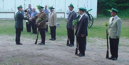 Schuetzenfest 2010 - I. Exerzierabend Verpflichtung der Rekruten