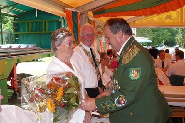 Schützenkönig Thomas Schenck - Glückwuensche