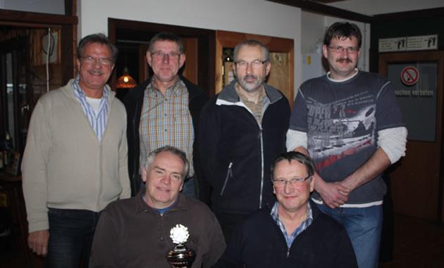 Siegermannschaft des Karl-Guhl-Pokal-Schießen 2009 - SV Metzingen I