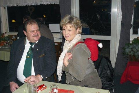 Königspaar Schenck - Weihnachtsfeier II Kompanie