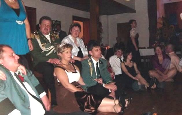 Singen am Lagerfeuer - Königsball Schützenverein Metzingen